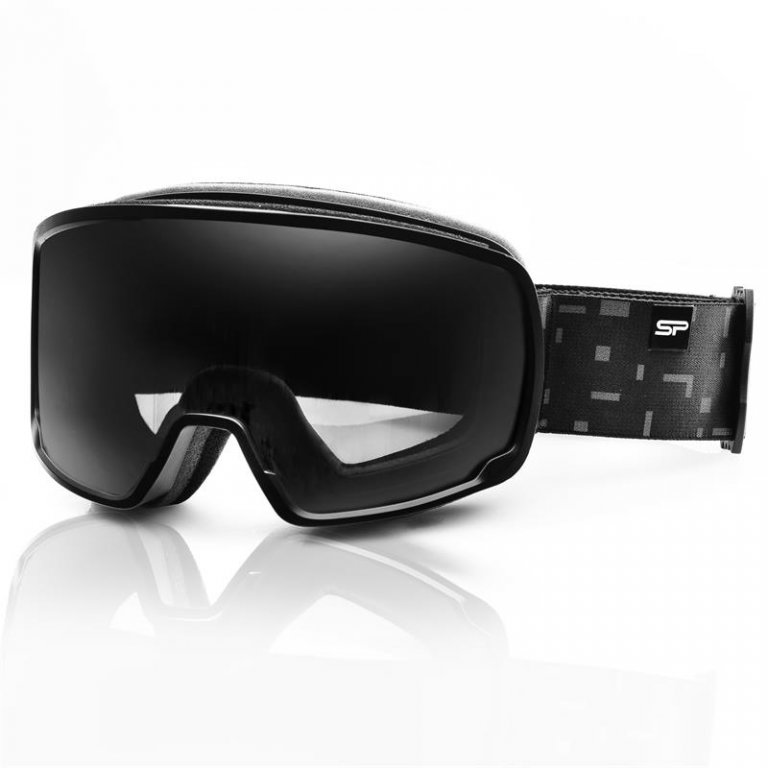 brýle lyžařské SPOKEY ELBERT černé