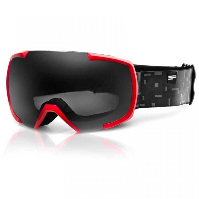brýle lyžařské SPOKEY EVANS červeno/šedé