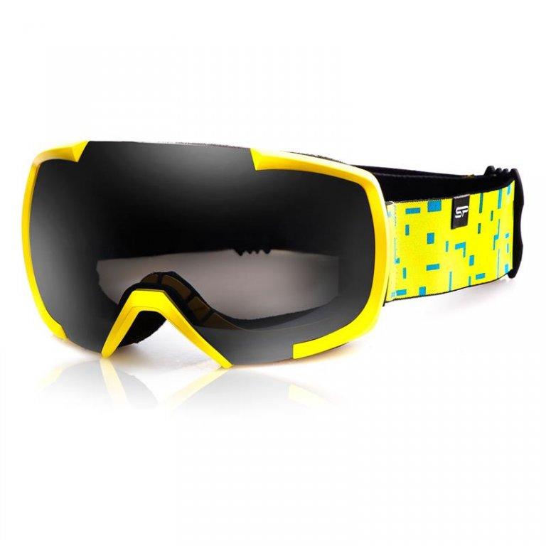 brýle lyžařské SPOKEY EVANS žluté