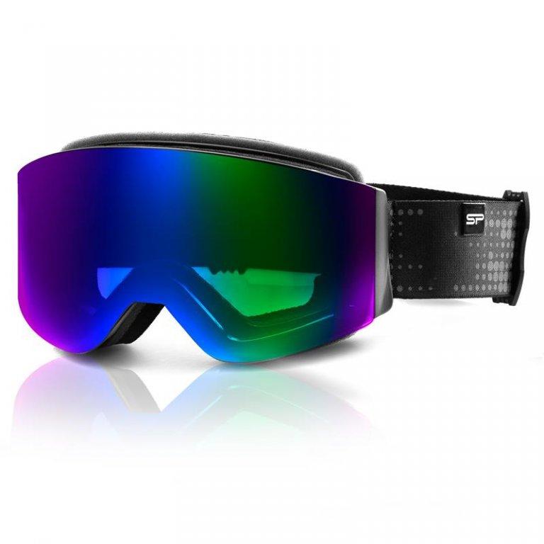 brýle lyžařské SPOKEY GRANBY černo/modré