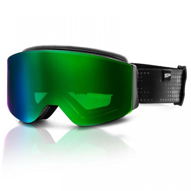 brýle lyžařské SPOKEY GRANBY černo/zelené