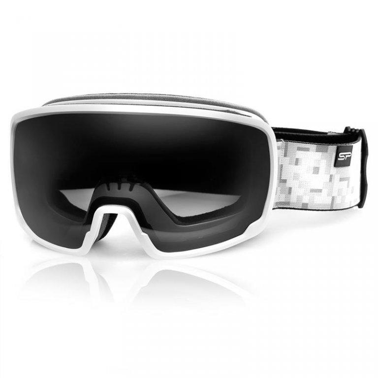 brýle lyžařské SPOKEY GRAYS šedo/bílé