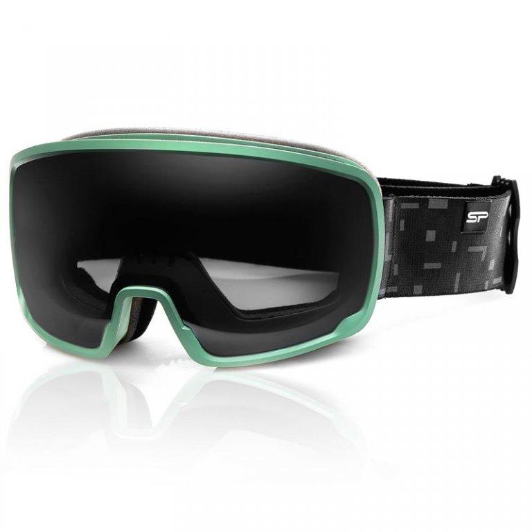 Brýle lyžařské SPOKEY GRAYS šedo/zelené