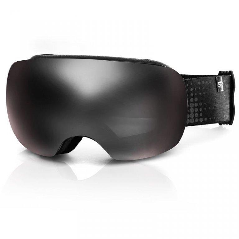 brýle lyžařské SPOKEY LOGAN šedo/růžové