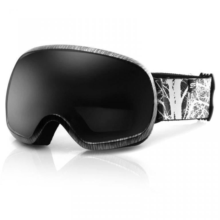 brýle lyžařské SPOKEY PARK černo/bílé