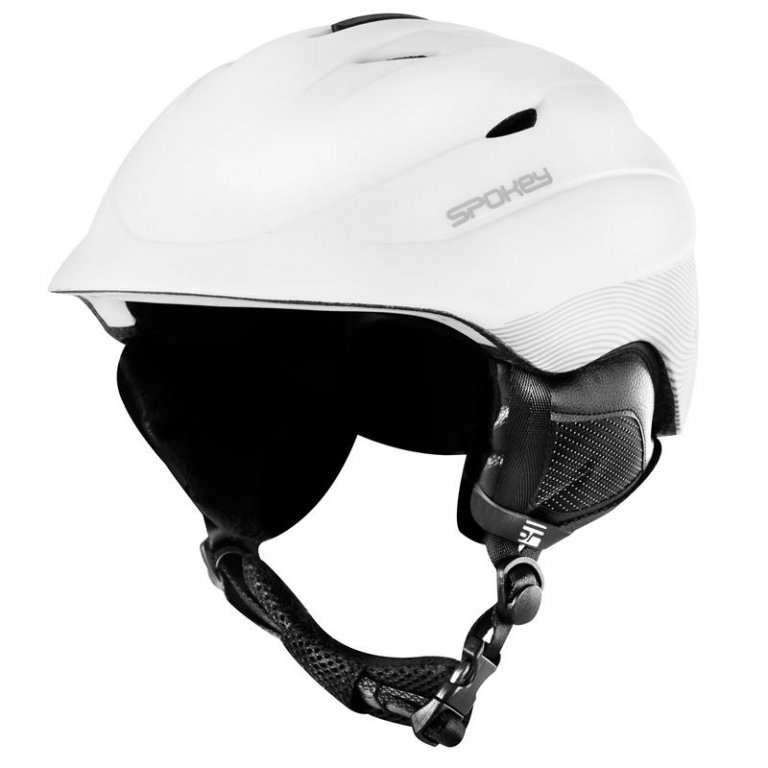 přilba lyžařská SPOKEY COLUMBIA bílá, L/XL