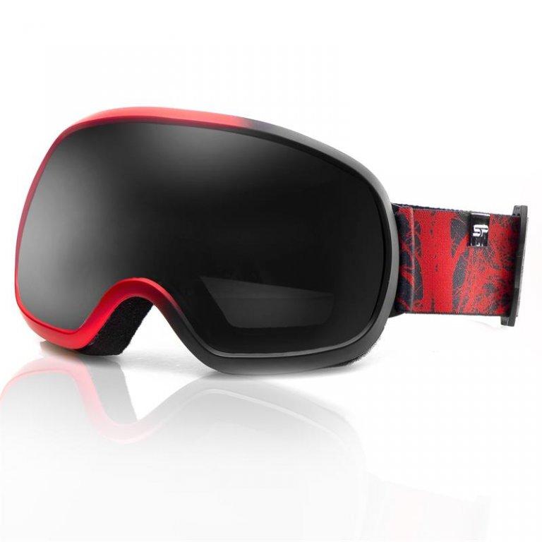 brýle lyžařské SPOKEY PARK červené
