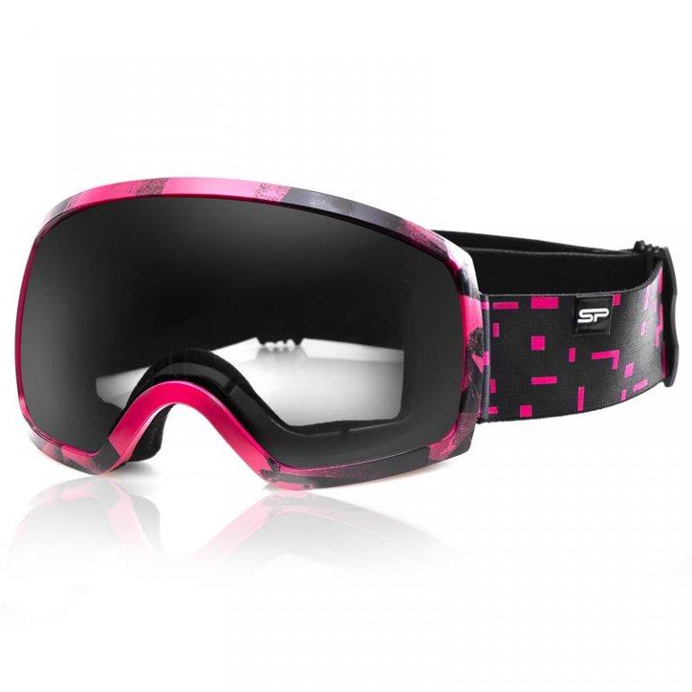 brýle lyžařské SPOKEY RADIUM růžové