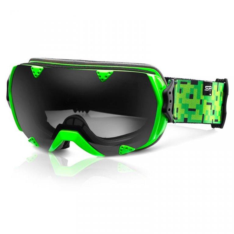 brýle lyžařské SPOKEY RED ROCK zelené