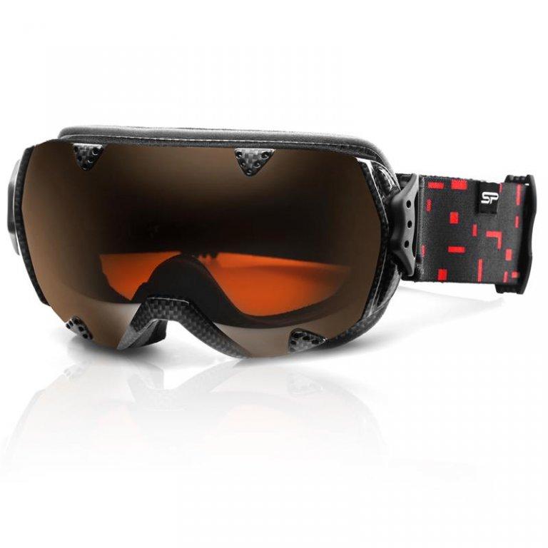 brýle lyžařské SPOKEY RED ROCK černo/červené