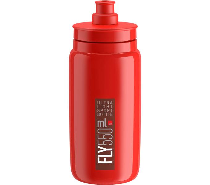 Lahev ELITE FLY 20 červená/červené logo 550 ml