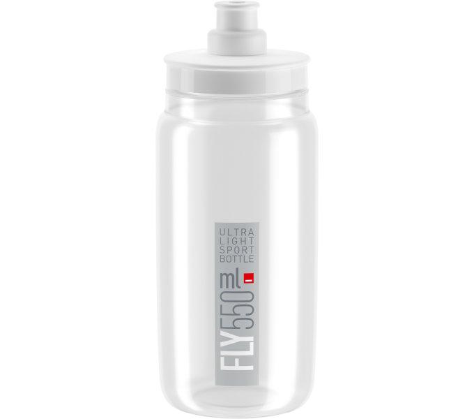 Lahev ELITE FLY 20 čirá/šedé logo 550 ml