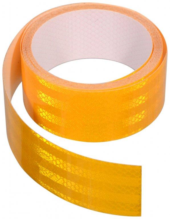 Páska 3M samolepící stříhací nedělená oranžová