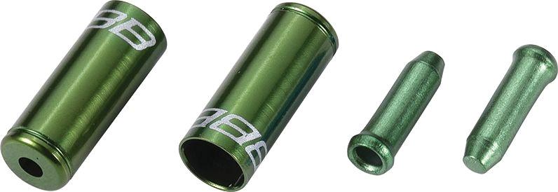 koncovky sada BBB CableCapKit zelené