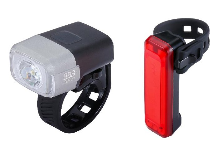 osvětlení přední+zadní BBB NanoStrike 400 Combo BLS-130+ BLS-137