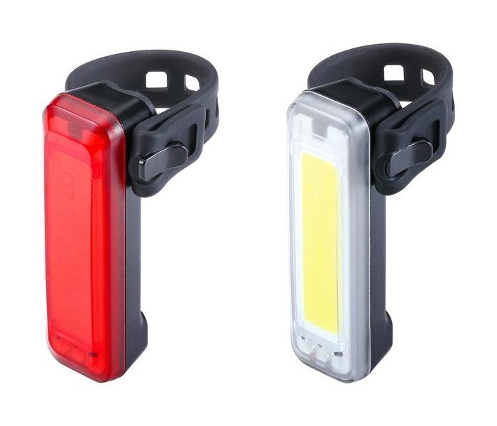 osvětlení přední+zadní BBB SignalCombo BLS-136 + BLS-137