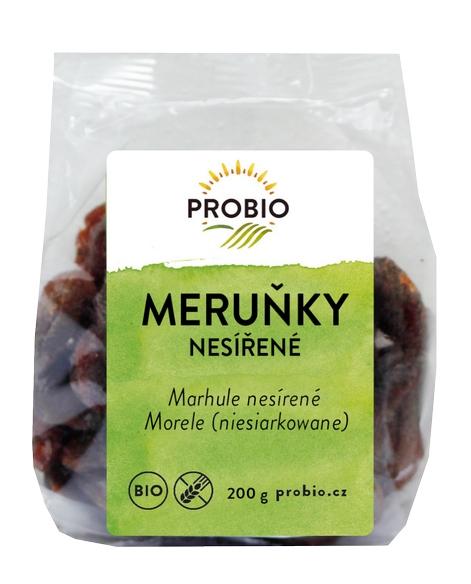 meruňky nesířené PROBIO 200g