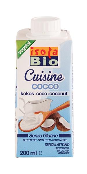 krém kokosový na vaření a pečení ISOLA BIO 200ml