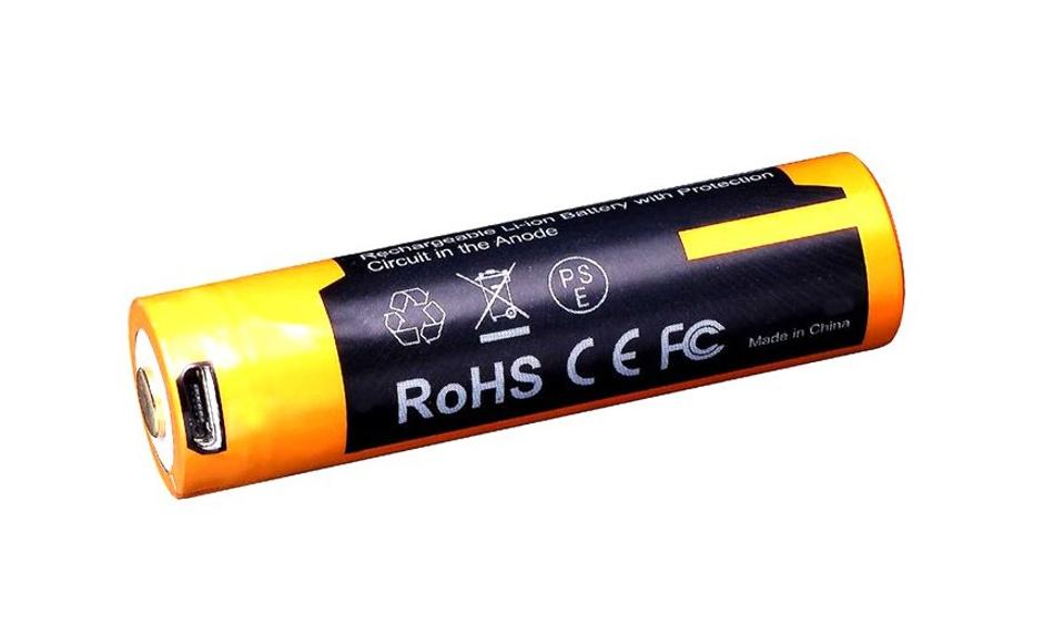 baterie Fenix dobíjecí USB AA ARB-L14-1600U