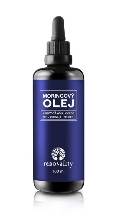 Renovality Moringový olej za studena lisovaný 100ml