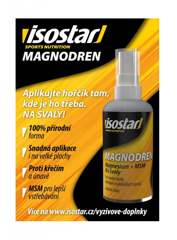 Sprej ISOSTAR Magnodren hořčíkový 50 ml