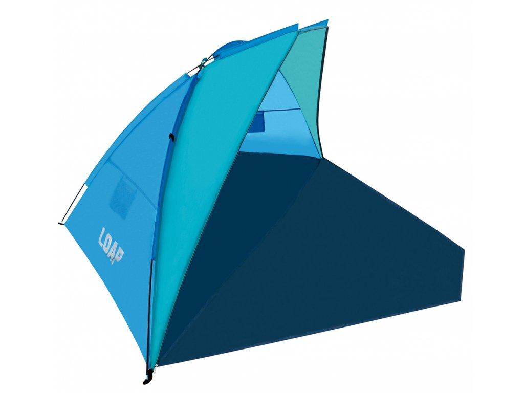 Stan plážový LOAP BEACH SHELTER M 4os. modrý