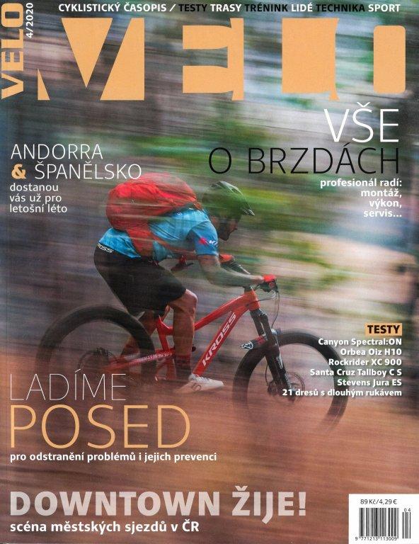 časopis VELO 04/2020