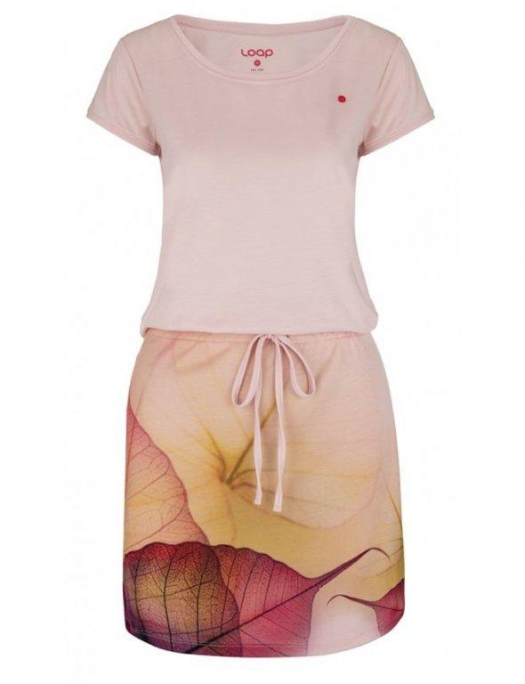 šaty dámské LOAP ALYSA růžové