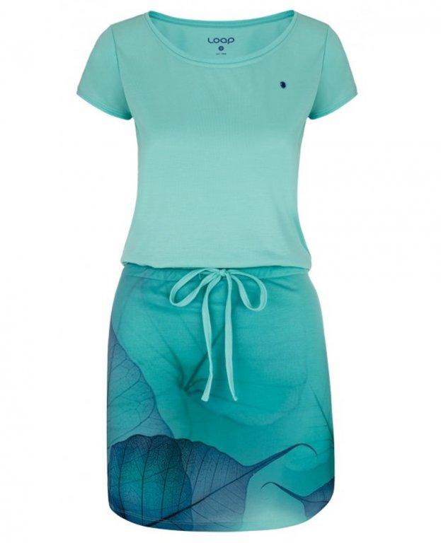 šaty dámské LOAP ALYSA modré