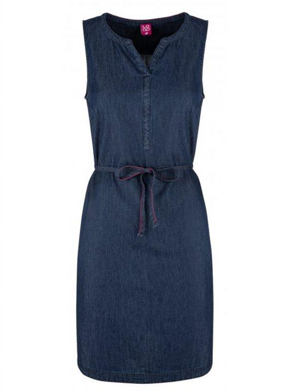 šaty dámské LOAP NERMIN modré