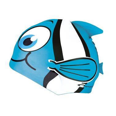 čepice plavecká dětská Spokey RYBKA světle modrá
