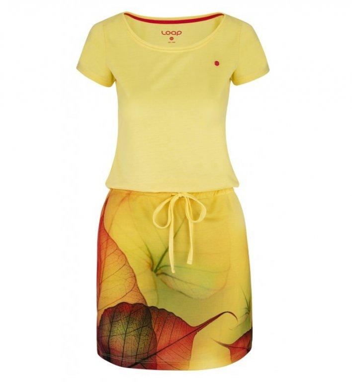 šaty dámské LOAP ALYSA žluté