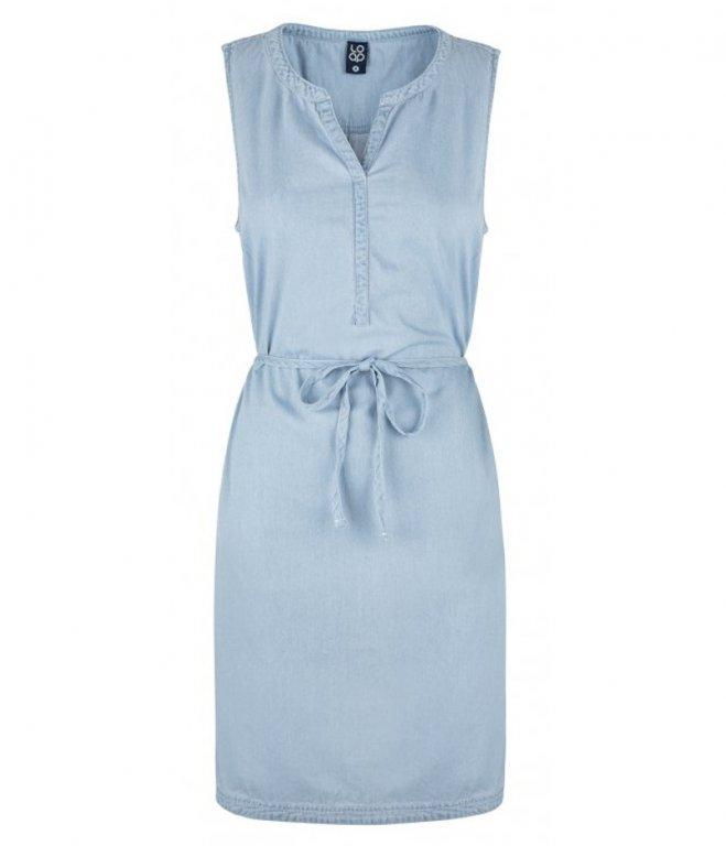 šaty dámské LOAP NERMIN světle modré