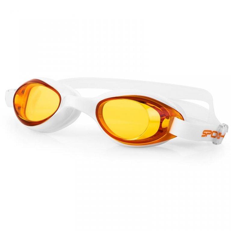 brýle dětské Spokey TINI bílé oranžová skla