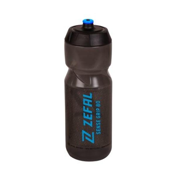 Lahev ZEFAL SENSE GRIP 80 černá modrý potisk