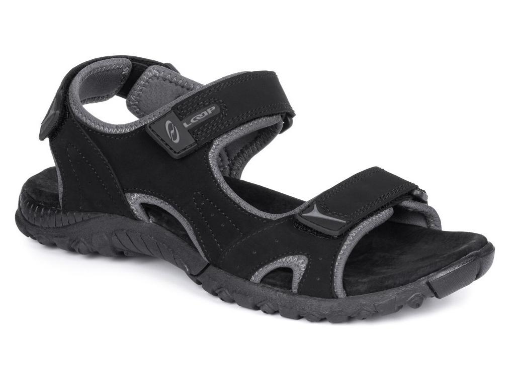 Boty pánské LOAP NOTES sandály černé