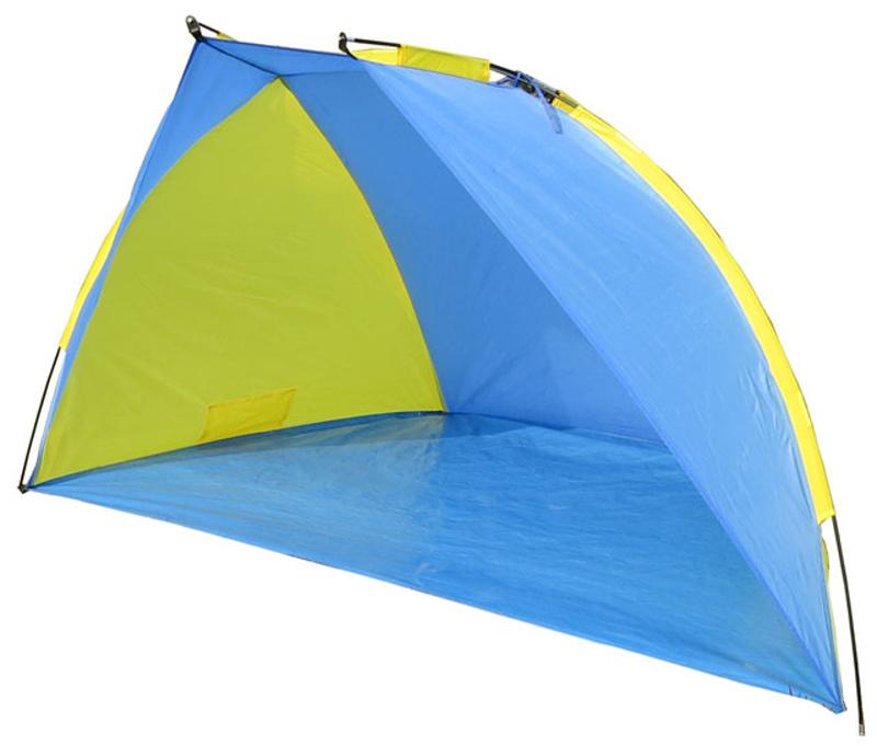 Stan plážový 220x115x120cm světle-modro/žlutý