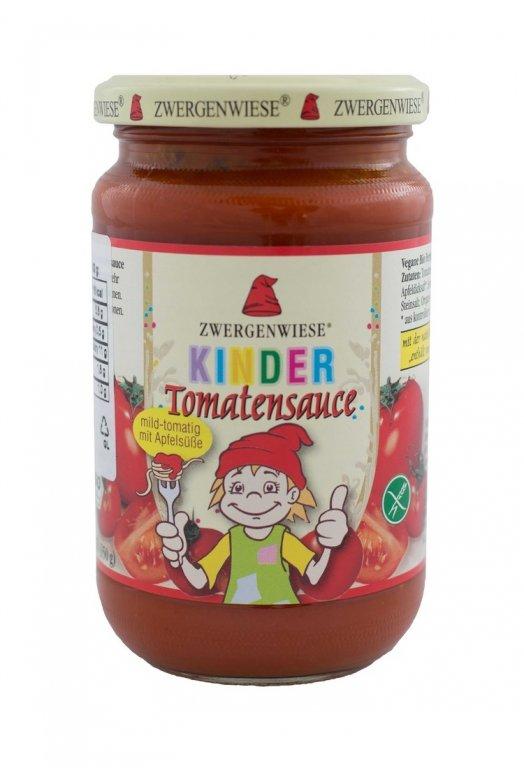 omáčka rajčatová dětská ZWERGENWIESE 350g