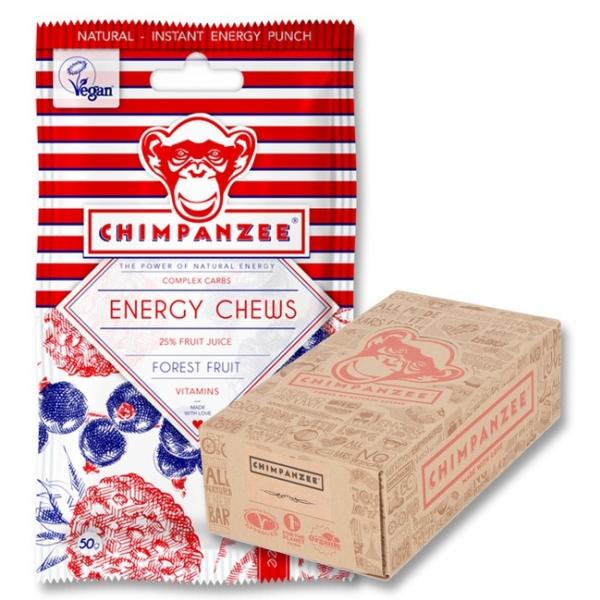 želé vitamíny Chimpanzee Energy Chews lesní plody exp. 04/2020