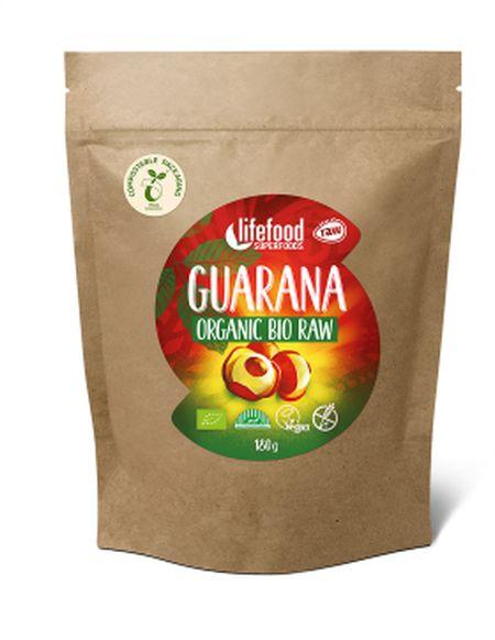 guarana prášek Lifefood BIO RAW 180g exp. 05/2020