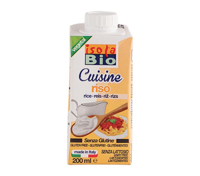 krém rýžový na vaření a pečení ISOLA BIO 200ml exp. 04/20