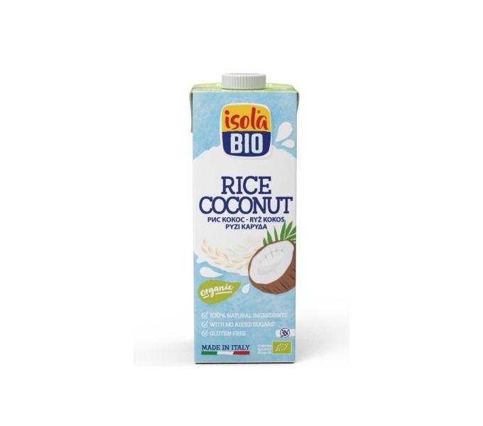nápoj rýžový kokosový ISOLA BIO 250 ml exp. 08/2020