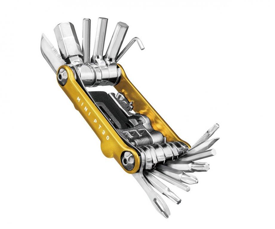 Klíče multi TOPEAK PT30 mini zlaté