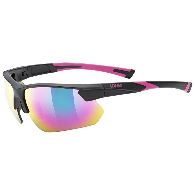 Brýle UVEX Sportstyle 221 černo-růžové