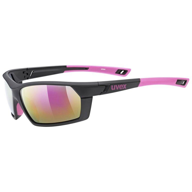 Brýle UVEX Sportstyle 225 černo-růžové
