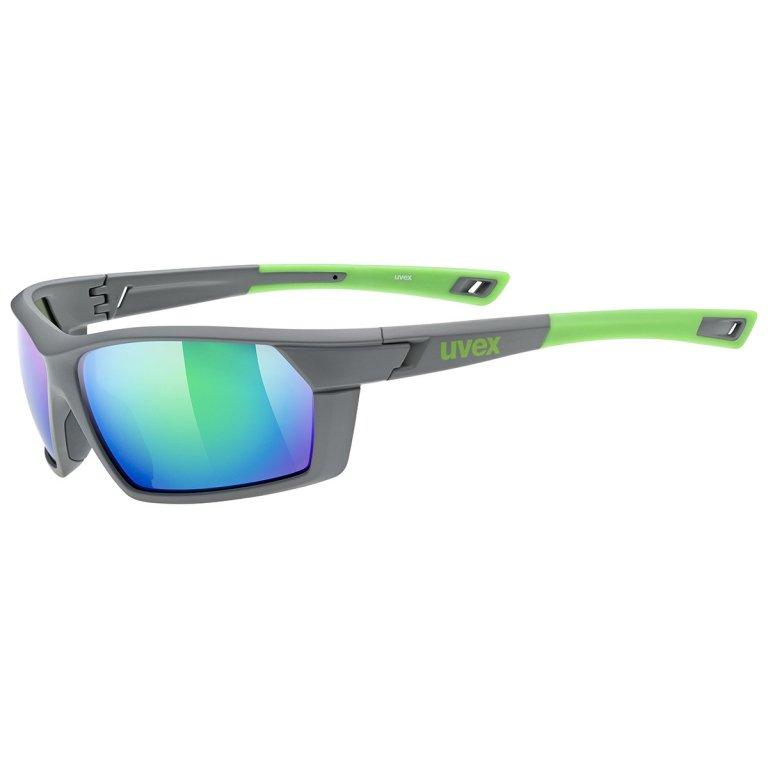 Brýle UVEX Sportstyle 225 šedo-zelené