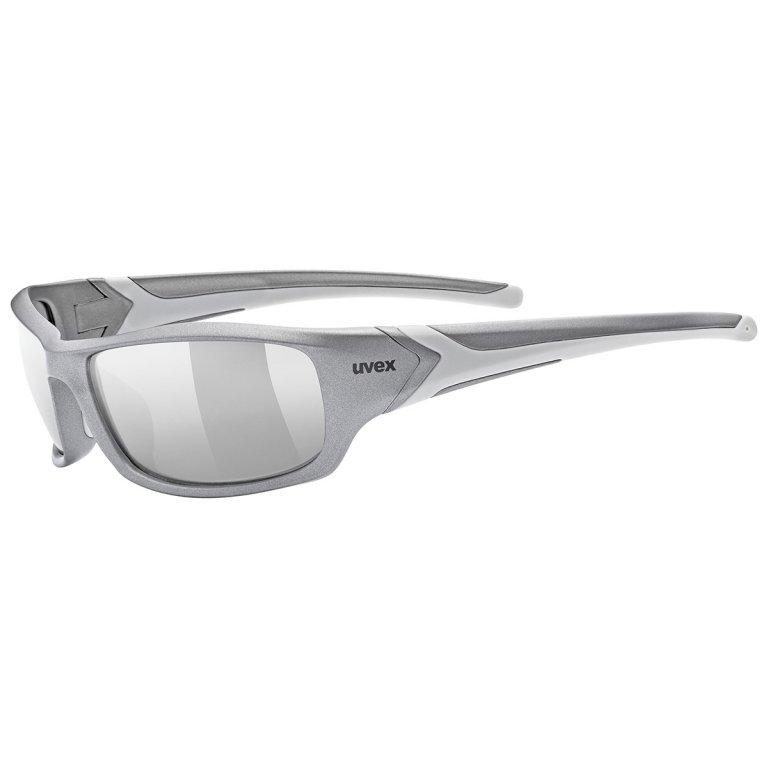Brýle UVEX Sportstyle 211 šedo-stříbrné
