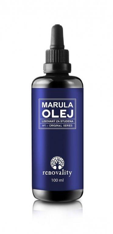 Renovality Marulový olej s pipetkou 100ml