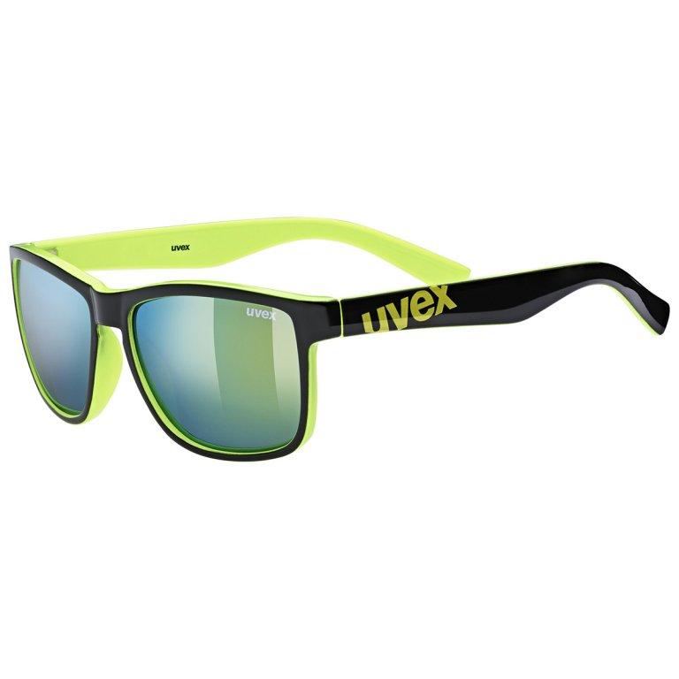 Brýle UVEX LGL 39 černo-limetkové