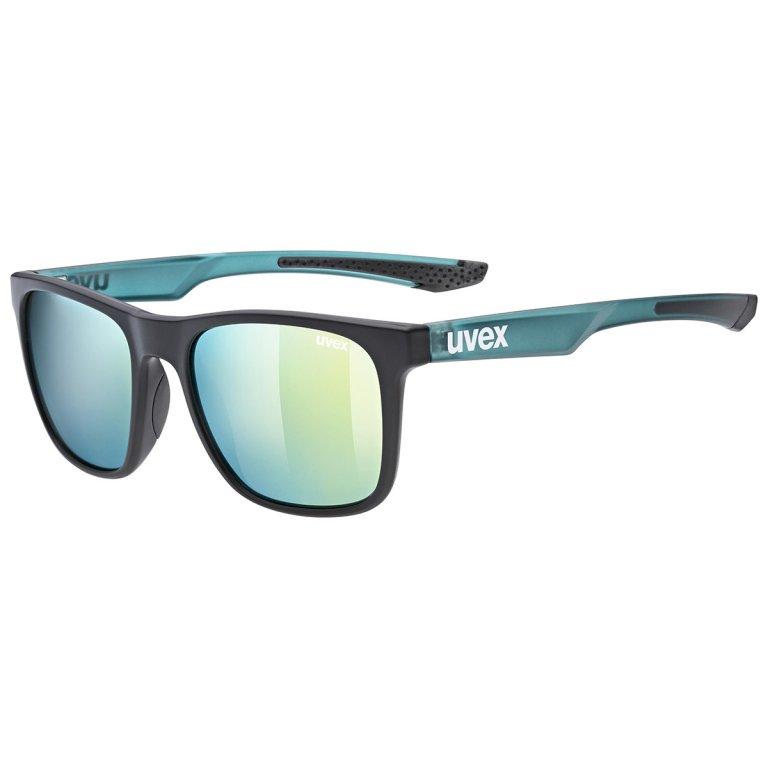 Brýle UVEX LGL 42 černo-zelené